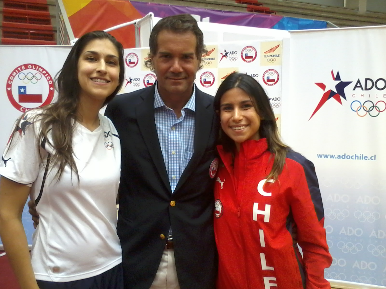 Neven Ilic and Team Chile. Photo: DAR Chile