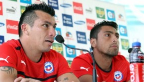 Gary Medel has been included in the Chile team despite injury. Photo: ANFP