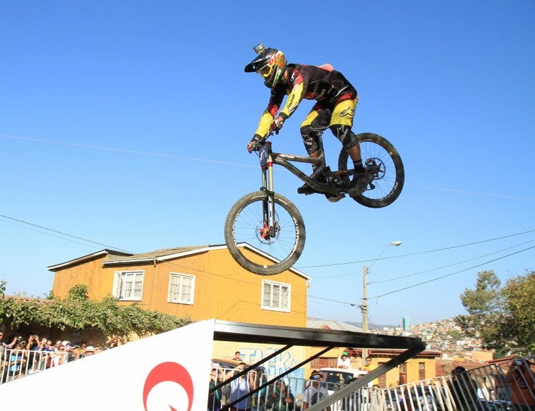 Australian rider Michael Hanna took fourth place. Photo: Vasilios Devletoglou
