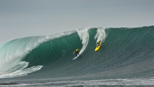 Punta de Lobos will begin the Big Wave World Tour once again. Photo: Quiksilver