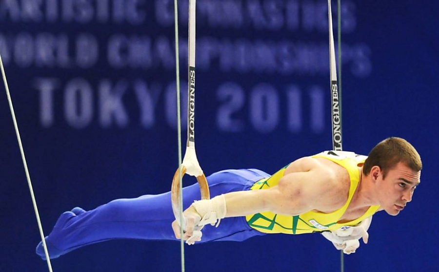 Arthur Zanetti will be a guest of honour at Santiago 2014. Photo: SESCP/Flickr