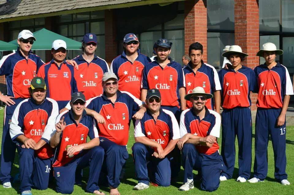 Chile's team faced the Barmy Union CC