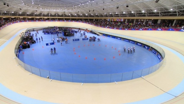 The Parque Peñalolen velodrome. Photo: Vasilios Devletoglou