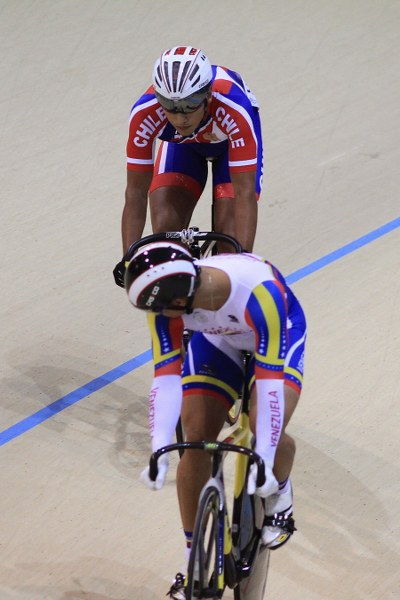 Andrés Silva bowed out in the sprint quarter finals. Photo: Vasilios Devletoglou