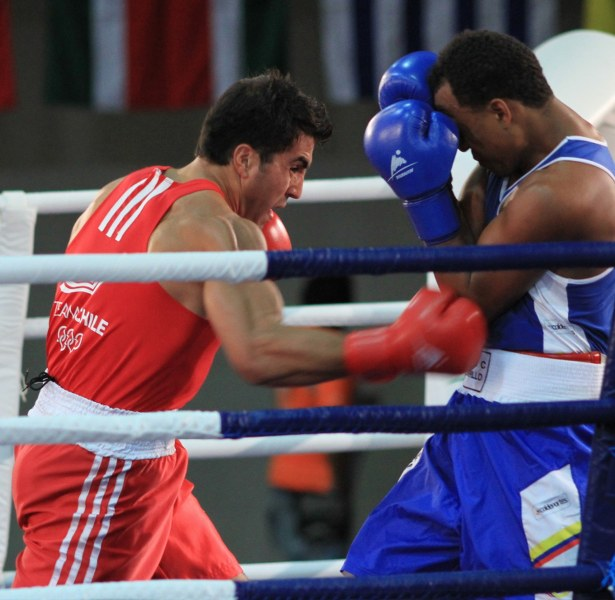 Boxing at the South American Games. Photo: Vasilios Devletoglou