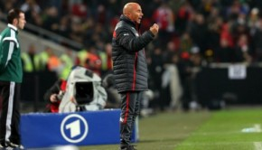Jorge Sampaoli said he's staying put. Photo: Carlos Parra/ANFP