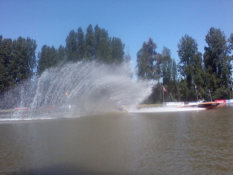 Lago Los Morros hosted the water ski event. Photo: Daniel Boyle