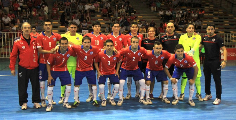 The Chilean team. Photo: Vasilios Devletoglou