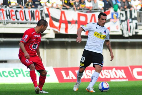 Esteban Paredes demanded a place with 5 goals. Photo: ANFP