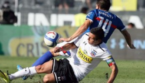 Colo Colo and Católica played out a hard-fought 2-2 draw. Photo: ANFP-Carlos Parra