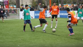 The Homeless World Cup will take place in Plaza de Armas. Photo: Daniel Boyle