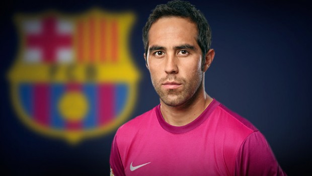 Claudio Bravo will move to Barcelona. Photo: FC Barcelona