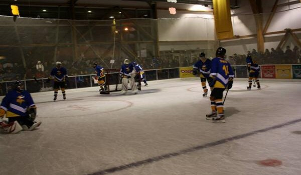 Ice Hockey in Punta Arenas. Photo: @lcarde/Twitter
