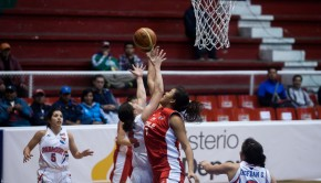 Ziomara Morrison starred for Chile. Photo: FIBA