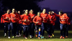 Chile futbol femenino. Photo: ANFP