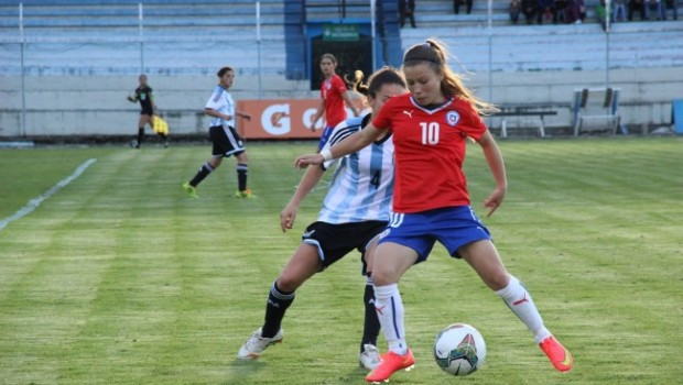 Chile beat Argentina in the opening match. Photo: ANFP