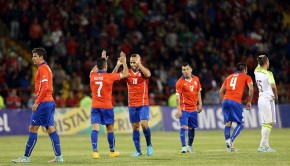Chile thrash Venezuela. Photo: ANFP/Facebook