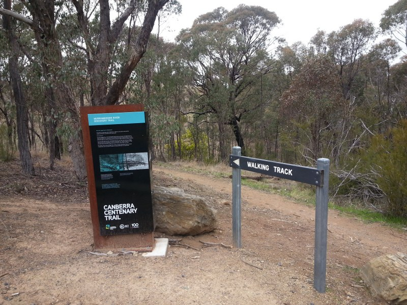Canberra Centenary Trail. Red Rocks Gorge Photo: Daniel Boyle