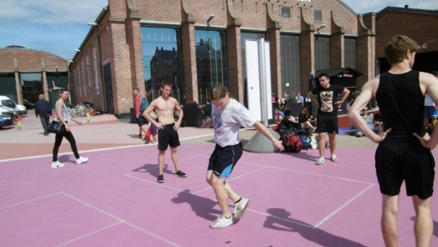 Footbag World Championships Copenhagen. Photo: Daniel Boyle