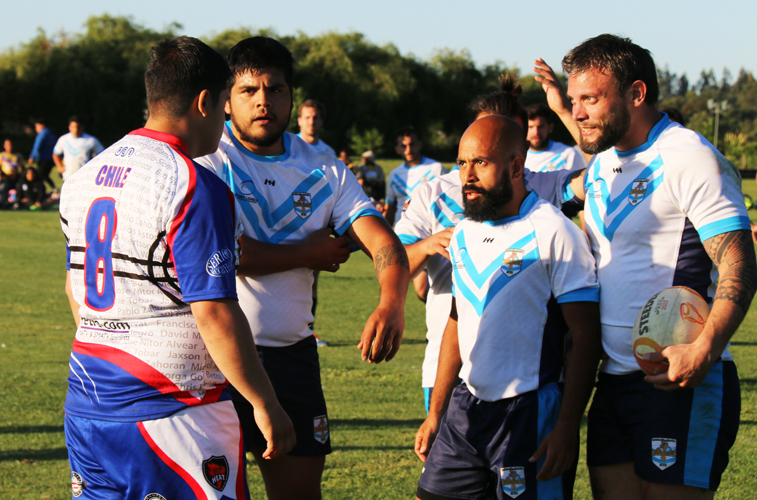 Chile face Argentina in the Rugby League final. Photo: Latin Heat