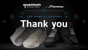 Quantum footbag shoes